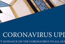 Photo of Coronavirus – Member Update