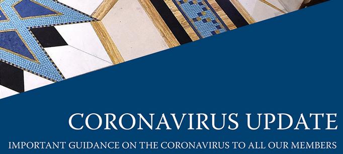 Photo of Coronavirus – Member Update