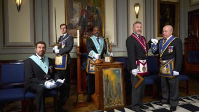 Photo of IG Visitation –Ancient and Accepted Rite District of Somerset